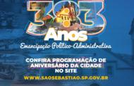 SÃO SEBASTIÃO - 383 ANOS