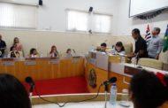 Proposta sobre saneamento básico é aprovada em sessão da Câmara Jovem