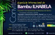Exposição Internacional do Bambu Ilhabela começa na próxima semana