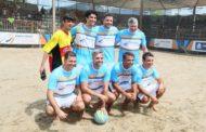 Futebol dos Artistas foi a grande atração do Arena Verão Esportiva neste domingo (20/01)