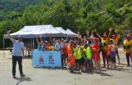 """Projeto """"Agita Férias na Praia"""" traz alunos de Jacareí para conhecer Caraguatatuba"""