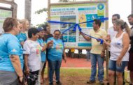 Prefeito participa de inauguração de placa sobre defeso e resíduos marinhos na Praça da Figueira