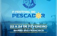 1º Festival de Pescador terá boa música e gastronomia no bairro de São Francisco