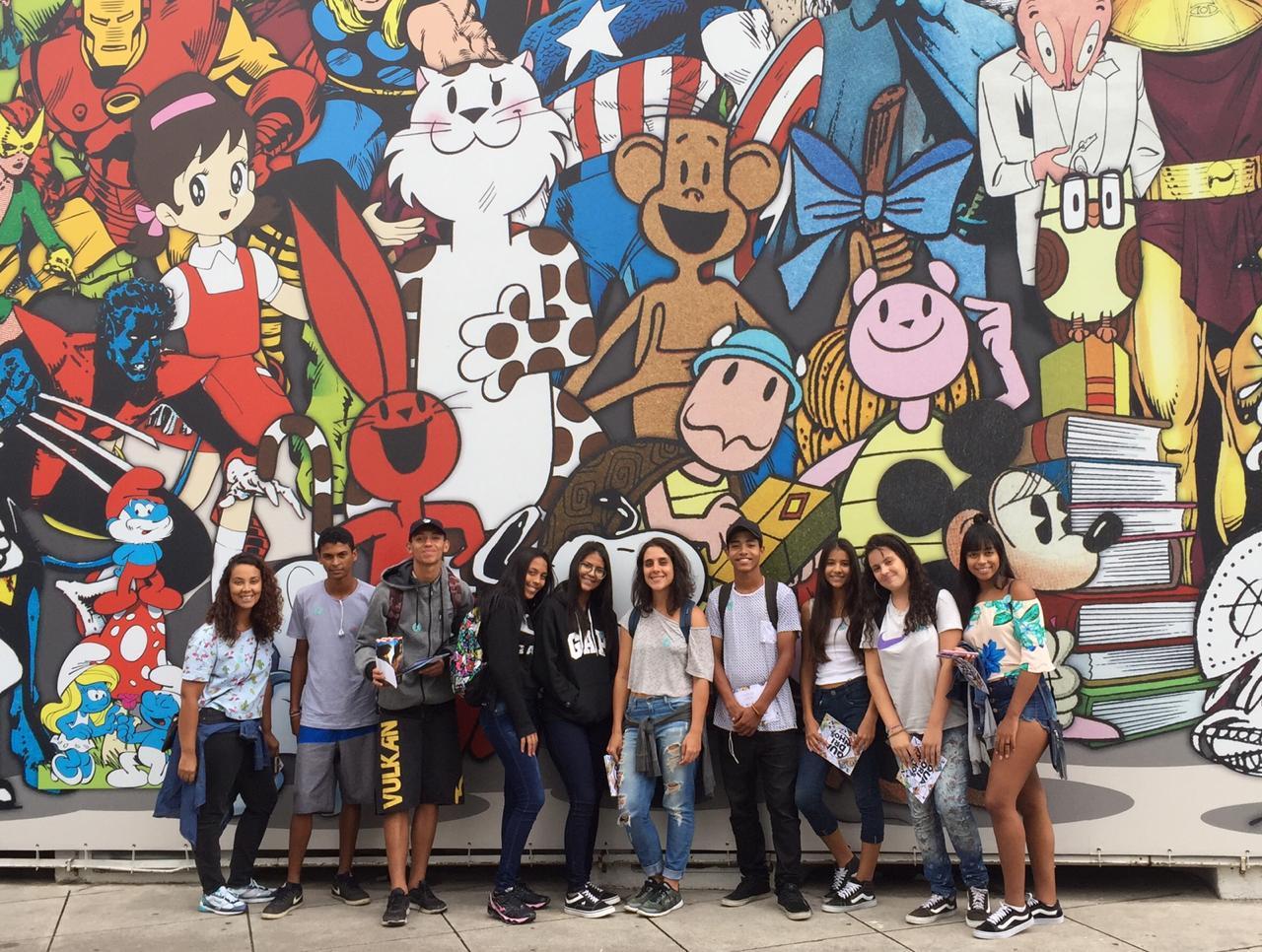 Jovens ilhéus participam de jornada cultural em São Paulo