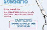 Fundo Social de Solidariedade convida cabeleireiros para ação solidária