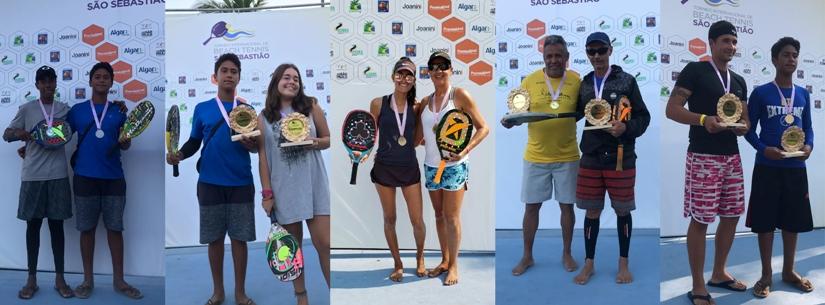 Equipe de Beach Tênis de Caraguatatuba dá show em torneio internacional