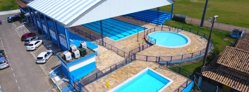 Prefeitura entrega neste domingo a cobertura e reforma do Parque Aquático do Centro Esportivo Municipal