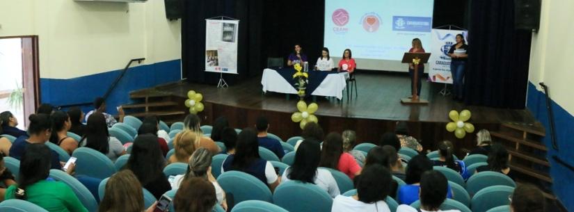 Mais de 200 funcionários da Secretaria de Saúde de Caraguatatuba concluem curso de Manejo Clínico de Aleitamento Materno