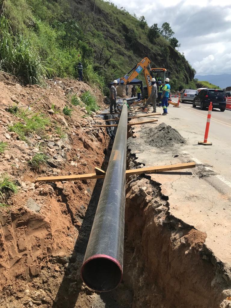 Trecho de Serra terá 'pare e siga' no km 116 da SP-55 a partir desta quarta-feira