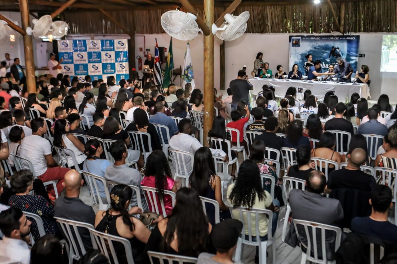 Prefeitura de São Sebastião forma mais de 400 pessoas em cursos de capacitação na Costa Sul