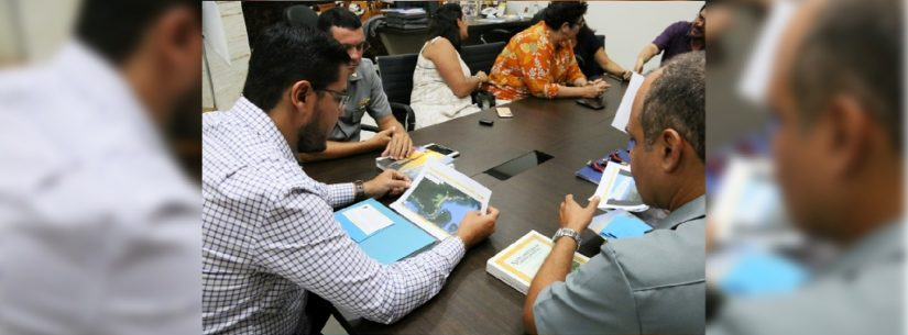 Prefeito de Caraguatatuba recebe Delegado da Capitania dos Portos e destaca parceria com a Marinha do Brasil