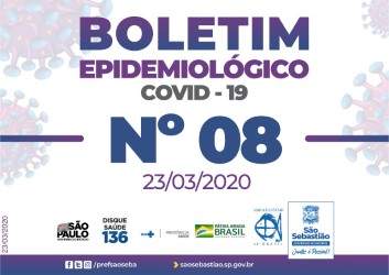 COVID-19: Boletim Epidemiológico #8