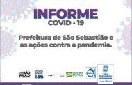 COVID-19: Prefeitura de São Sebastião continua com ações contra a pandemia