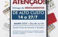 Medicamentos de Alto Custo começam a ser entregues essa semana em Ilhabela