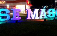 Prefeitura Municipal e Fundacc instalam letreiros 'Use Máscara' para conscientização da população