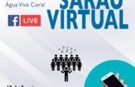 Água Viva Coral promove Hoje 'Sarau Virtual'