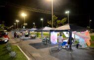 A região norte de Caraguatatuba inaugurou sua primeira Feira de Artes e Artesanato