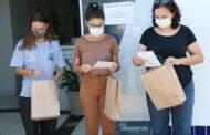 Caraguatatuba: Equipe que monitora pacientes com Covid-19 recebe homenagem surpresa da Rede Colabora Litoral