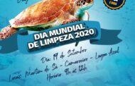 Em Caraguatatuba, voluntários promovem limpeza nas praias Martim de Sá, Capricórnio e Camaroeiro neste sábado (19)