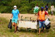 Cerca de 240 kg de resíduos são recolhidos em Caraguatatuba no Dia Mundial da Limpeza