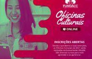 FUNDACC abre inscrições para Oficinas Culturais Online 2021